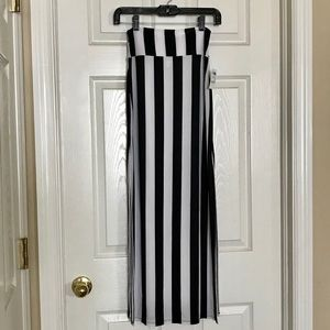 NWT Charlotte Russe striped maxi skirt size XS